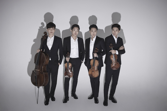 The promising classical music quartet Novus Quartet plays all of Felix Mendelssohn's string quartets in two concerts on Oct. 16 and 17. [SEJONG CENTER FOR THE PERFORMING ARTS]