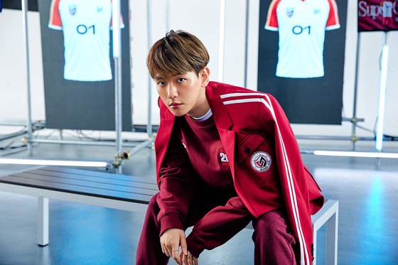 Teaser image featuring Baekhyun of K-pop boy band SuperM for their first regular album, which will drop on Sept. 25. [SM ENTERTAINMENT]