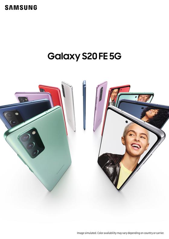 Galaxy S20 FE. [SAMSUNG ELECTRONICS]