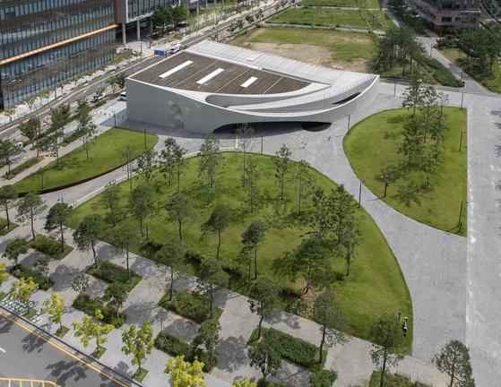 Kolon Group's new art museum named Space K Seoul in Magok of western Seoul. [SPACE K SEOUL]