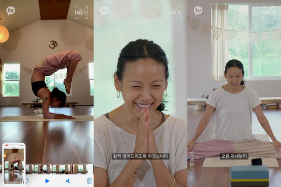 """Singer Lee Hyo-ri in Kakao TV's vertical content """"Face ID."""" [KAKAO M]"""