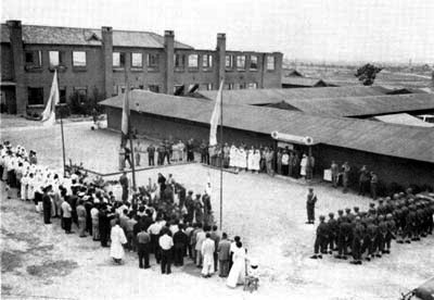 Field Hospital No. 68, also known as the Italian field hospital, during the Korean War. [EMBASSY OF ITALY IN KOREA]