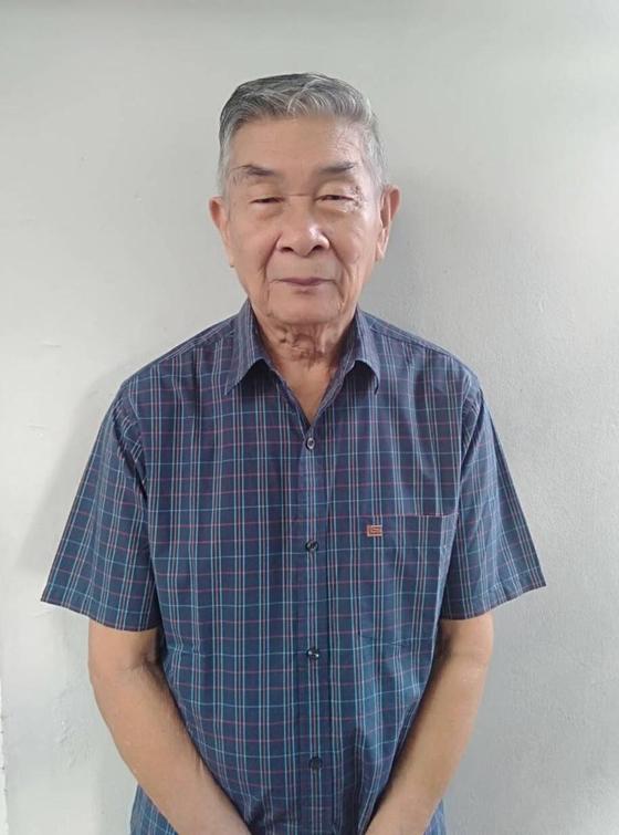 Col. Wongkhunti, 88, in a photo taken recently. [SAMRAN WONGKHUNTI]