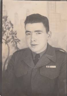 Vincent Courtenay in a photo taken in Japan in spring 1953 before returning to Canada. [VINCENT COURTENAY]