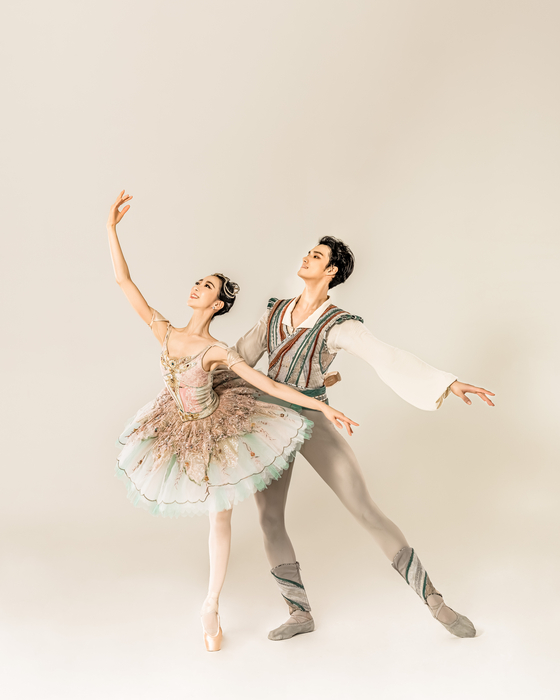 """The Korean National Ballet presents 'Le Corsaire"""" with new choreography created by young dancer Song Jung-bin in November. [KOREAN NATIONAL BALLET]"""