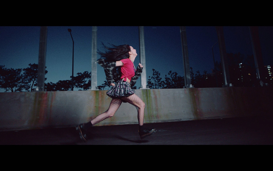 """Images from the music video for Blackpink's """"Lovesick Girls"""" [YG ENTERTAINMENT]"""