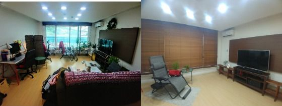 Just by reorganizing furniture and small accessories, space becomes a lot more pleasant. [PARK IN-SEON]