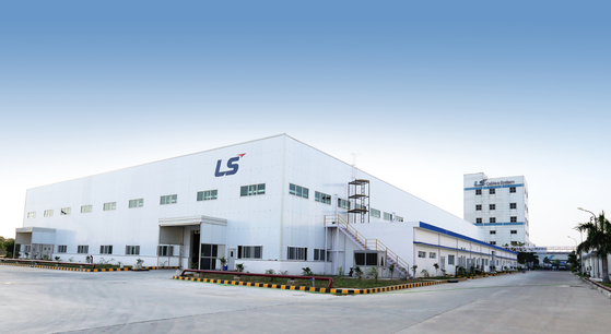 LS Cable & System's second 5G component factory in India. [LS CABLE & SYSTEM]