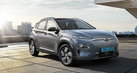 Hyundai Motor's Kona Electric. [HYUNDAI MOTOR WEBSITE]