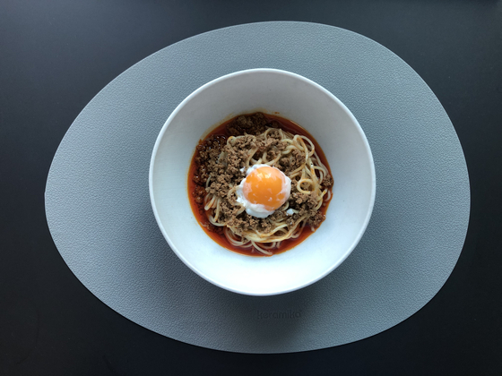 A home-cooked version of Geumsan Jemyeonso's dan dan noodles. [LEE SUN-MIN]