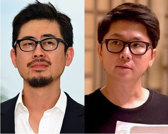 Korean director Na Hong-jin, left, and Thai director Banjong Pisanthanakun. [SCREEN CAPTURE]