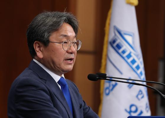 Kang Ki-jung, former senior presidential secretary for political affairs. [YONHAP]