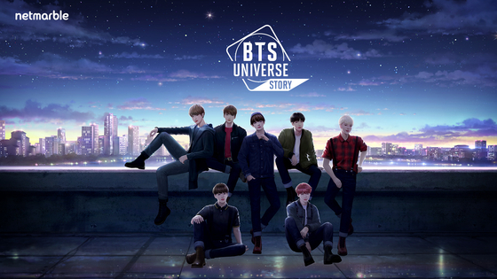 Netmarble's latest collaboration with Big Hit Entertainment, BTS Universe Story. [NETMARBLE]