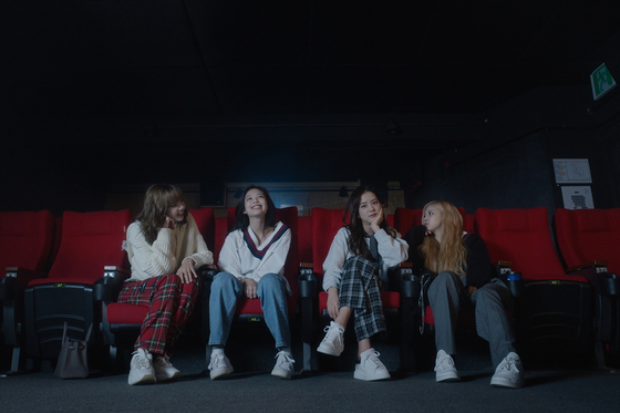 "Images from the upcoming Netflix documentary ""Blackpink: Light Up The Sky"" which is set to premiere worldwide on Wednesday. [NETFLIX]"