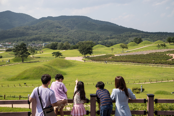 Geumseongsan Gobungun, located in Uiseong, North Gyeongsang, is an ideal destination for families wishing to visit less crowded areas. It is a historic site where the Jomun Kingdom was located 1,800 years ago. [CHOI SEUNG-PYO]