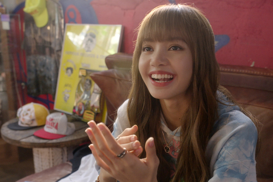 """Images from the upcoming Netflix documentary """"Blackpink: Light Up The Sky"""" which is set to premiere worldwide on Wednesday. [NETFLIX]"""