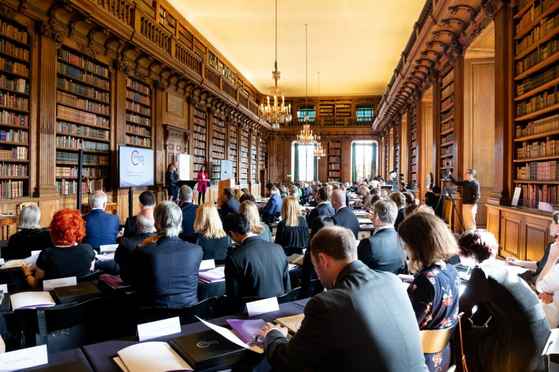 Dementia Forum X at the Royal Palace in Stockholm, Sweden, in May 2019. [DEMENTIA FORUM X]