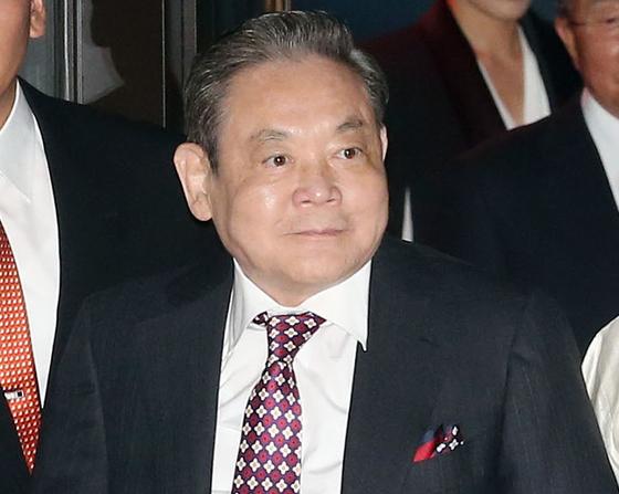 Samsung Group Chairman Lee Kun-hee. [NEWS1]