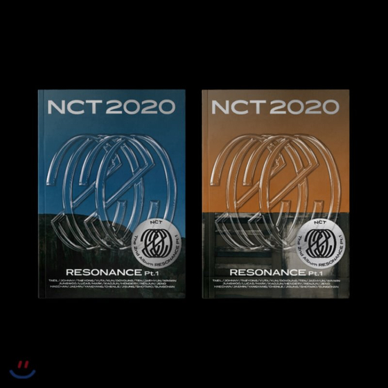 "Album cover of 'NCT 2020: Resonance Pt. 1."" [SM ENTERTAINMENT]"