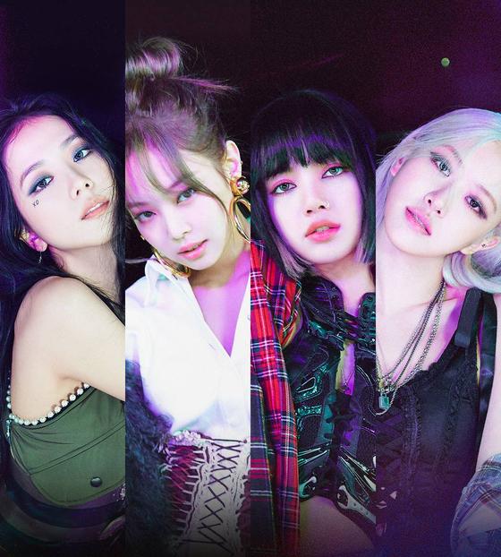Girl group Blackpink. [YG ENTERTAINMENT]