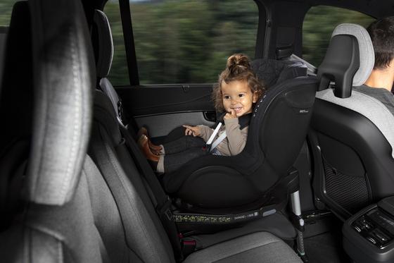 Volvo Cars Korea's rear-facing child seat. [VOLVO CARS KOREA]