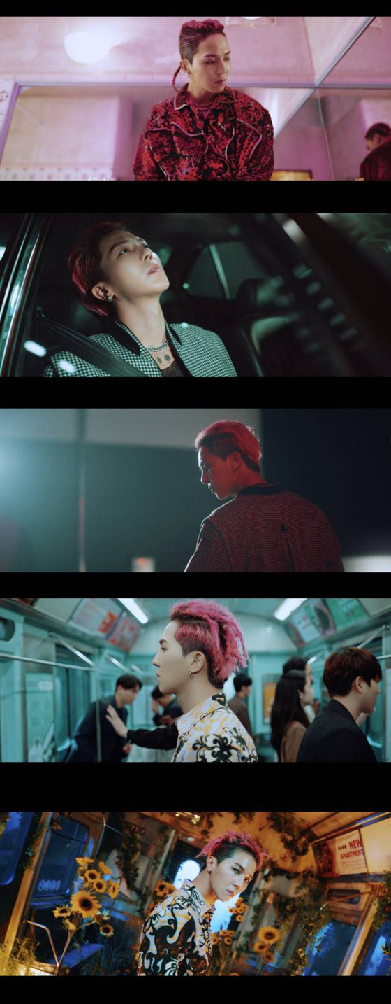"""Scenes from the music video """"Run Away,"""" the lead track of Mino's new album """"Take"""" [YG ENTERTAINMENT]"""