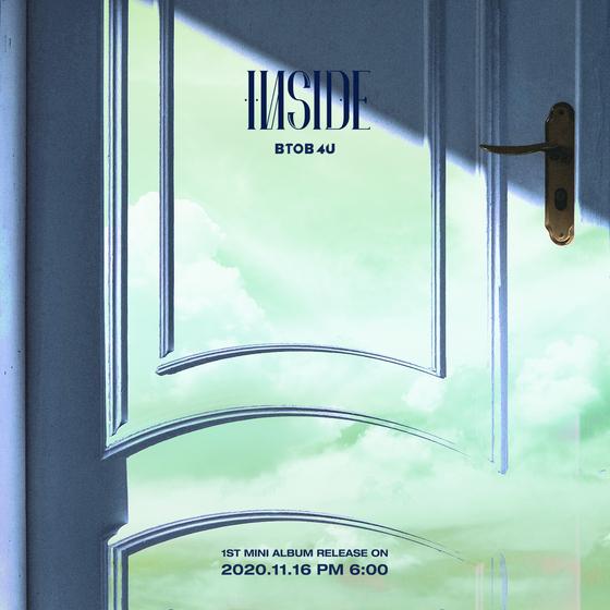 "The cover image of BtoB 4U's album ""Inside."" [CUBE ENTERTAINMENT]"