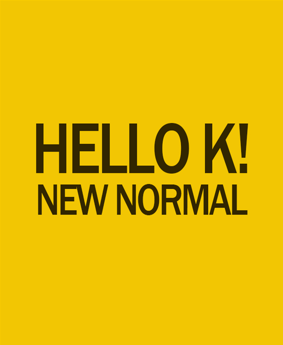 """""""Hello, K!"""" logo image [MINISTRY OF CULTURE, SPORTS AND TOURISM]"""