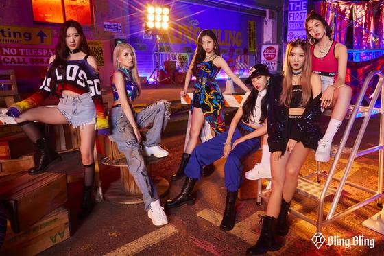 Girl group Bling Bling [MAJOR9]