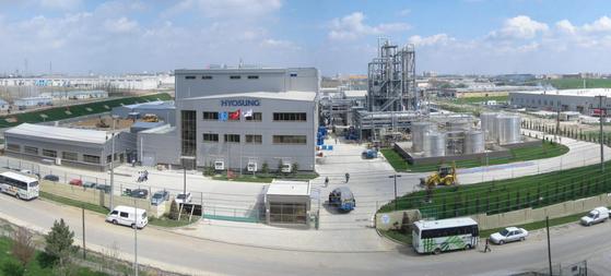 Hyosung TNC's spandex plant in Turkey. [HYOSUNG]