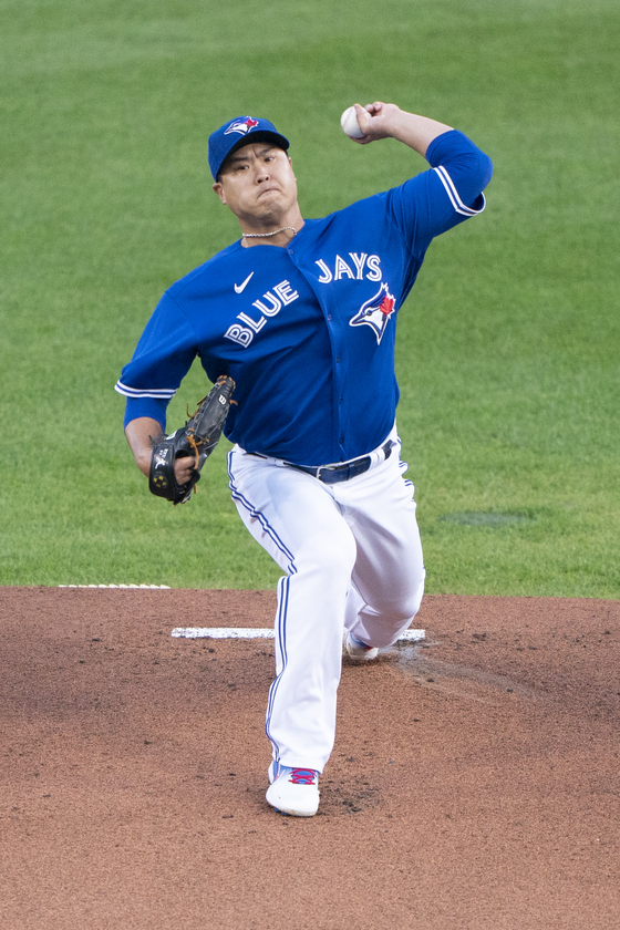 Ryu Hyun-jin of the Toronto Blue Jays [REUTERS/YONHAP]