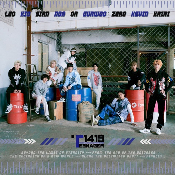 MLD Entertainment's new nine-member K-pop boy band T1419 is all ready to make a debut. [MLD ENTERTAINMENT]