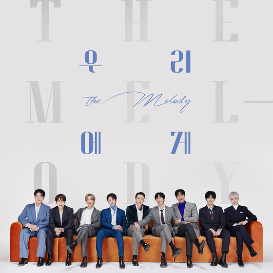 """Cover image for boy band Super Junior's new track """"The Melody"""" to drop on Friday. [LABEL SJ]"""