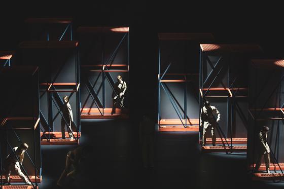"""Beyond Black"" choreographed by Shin Chang-ho. [AIDEN HWANG][AIDEN HWANG]"