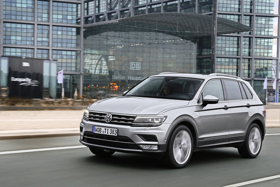 Volkswagen's Tiguan 2.0 TDI offers style and utility and is currently available with a range of promotional services. [VOLKSWAGEN]