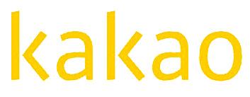 Logo of Kakao. [KAKAO]