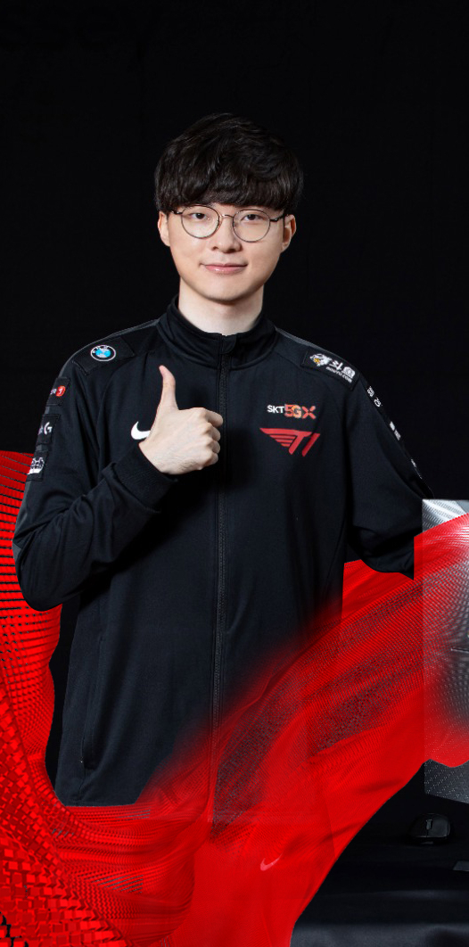 Lee Sang-hyeok, better known as Faker. [NEWS1]