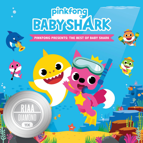 ″Baby Shark″ has got the highest Diamond honor from Recording Industry Association of America as well as 11X Multi Platinum. [SMART STUDY]