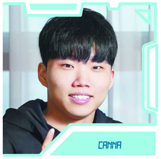 Kim Chan-dong, better known as Canna. [PARK SANG-MOON]
