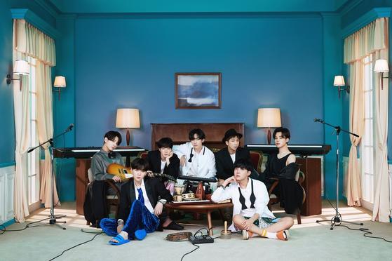 Boy band BTS [BIG HIT ENTERTAINMENT]