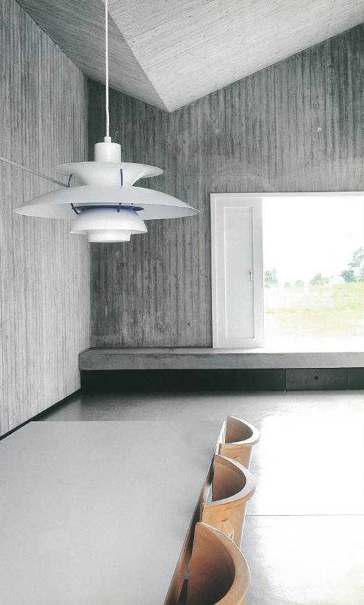 Louis Poulsen's PH 5 pendant light, the most iconic design of the brand that has gained global popularity. [LOUIS POULSEN]