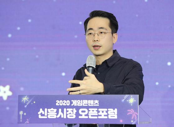 Lee Yo-han, Korea Growth Lead of The Sandbox. [KOCCA]