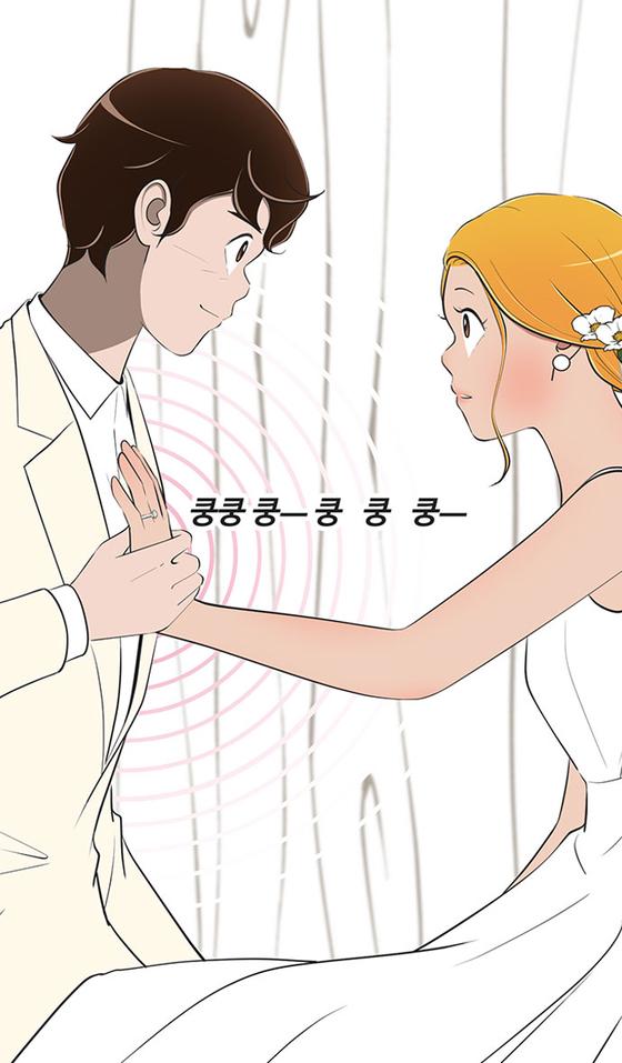 Scenes from now wrapped Naver Webtoon ″Yumi's Cells.″ [NAVER WEBTOON]