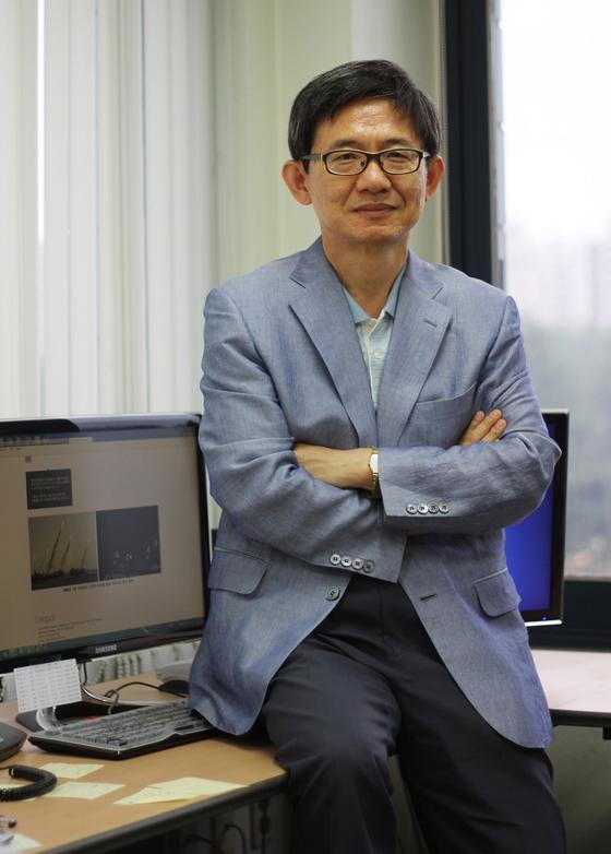 Lee Heung-kyu, a computer science professor at KAIST. [KAIST]