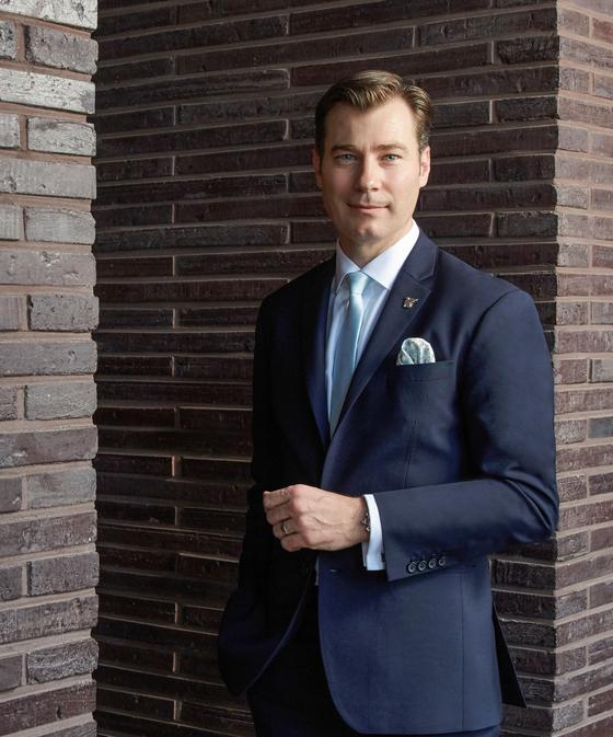 General Manager of JW Marriott Seoul Allen Howden. [JW MARRIOTT SEOUL]
