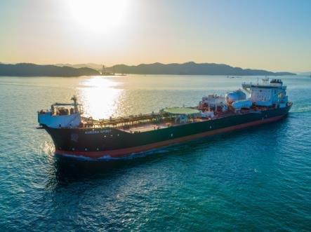 Samsung Heavy Industries' shuttle tanker. [YONHAP]