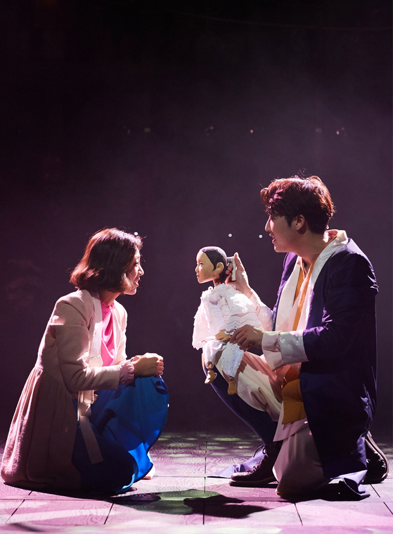 """One of the most representative works of Jeongdong Theater is the musical """"Pan,"""" which will staged for the first time in three years. [JEONGDONG THEATER]"""