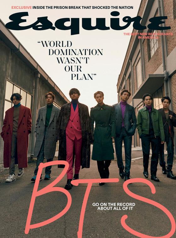 Esquire's BTS cover [ESQUIRE]