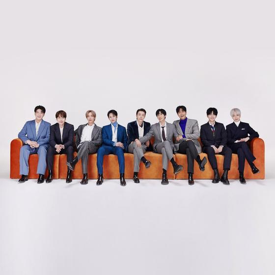 Boy band Super Junior [LABEL SJ]