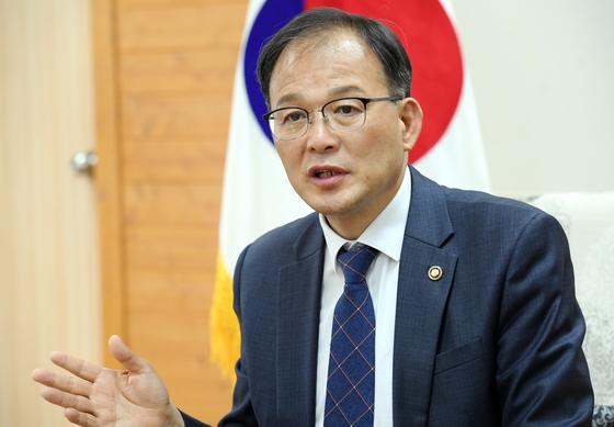 Korea Forest Service Minister Park Chong-ho. [KOREA FOREST SERVICE]